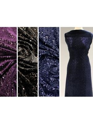 Sequins fabrics