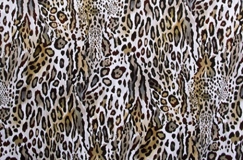Cheetah Lycra/ natural