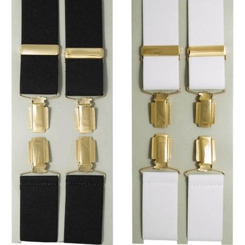 Luxury glit clip-on braces