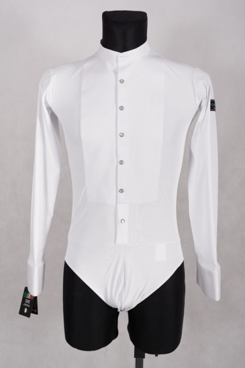 Stretch Shirt Noschese white