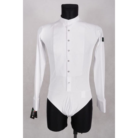 Stretch Shirt Noschese white