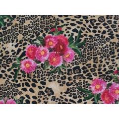 Floral Animal/pink-brown