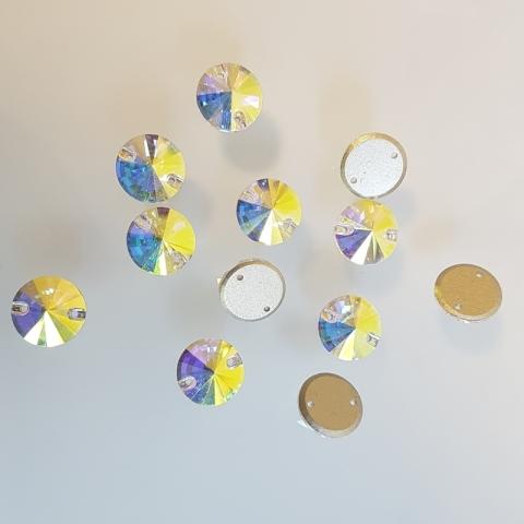 Circle crystal ab