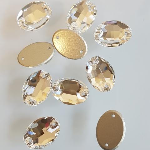 Oval crystal
