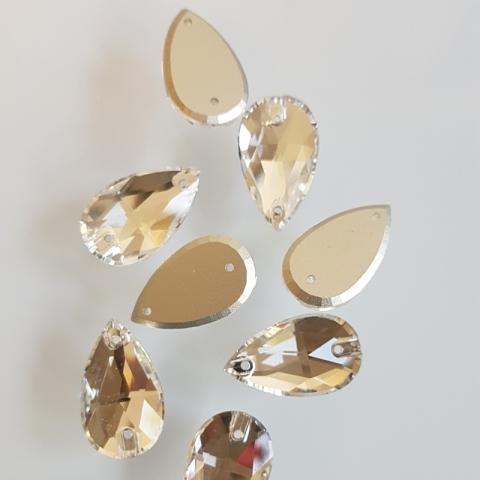 Teardrop crystal