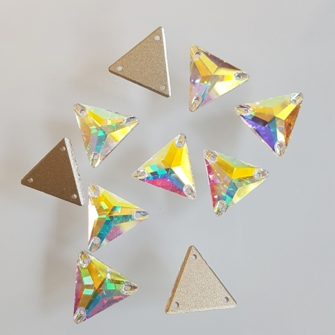 Triangle crystal ab