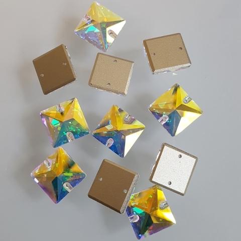 Square crystal ab