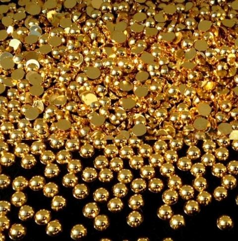 Half pearls gold