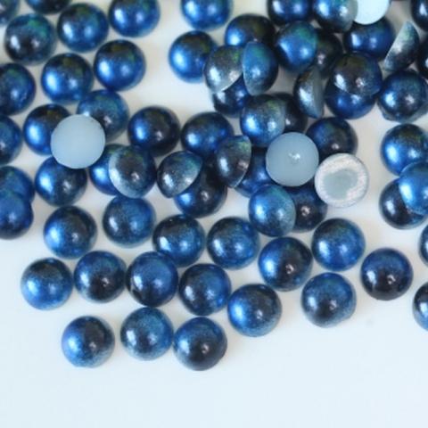 Half pearls sapphire