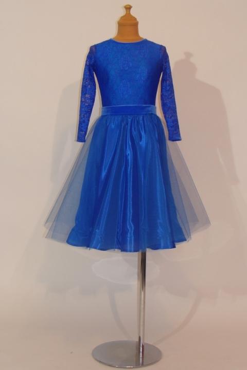 Juvenile Dress MAJA ocean blue