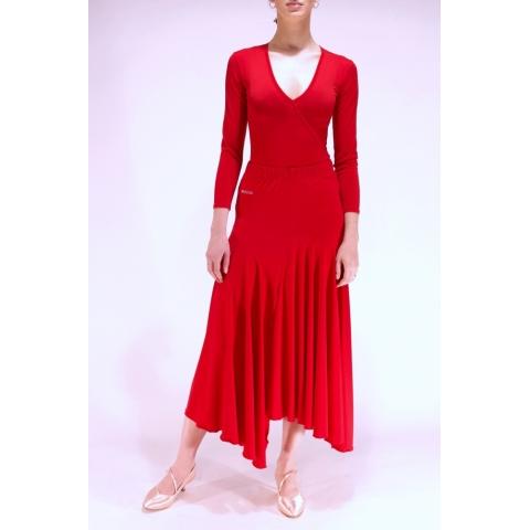 Skirt S02 red