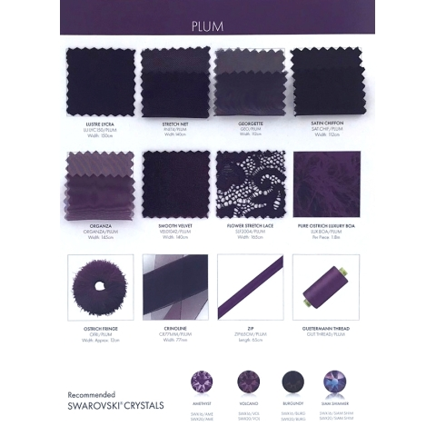 sample card CHR-C/PLUM